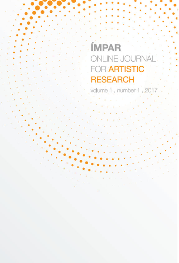 Imagem da capa do vol.1, nº1 (2017) da revista IMPAR