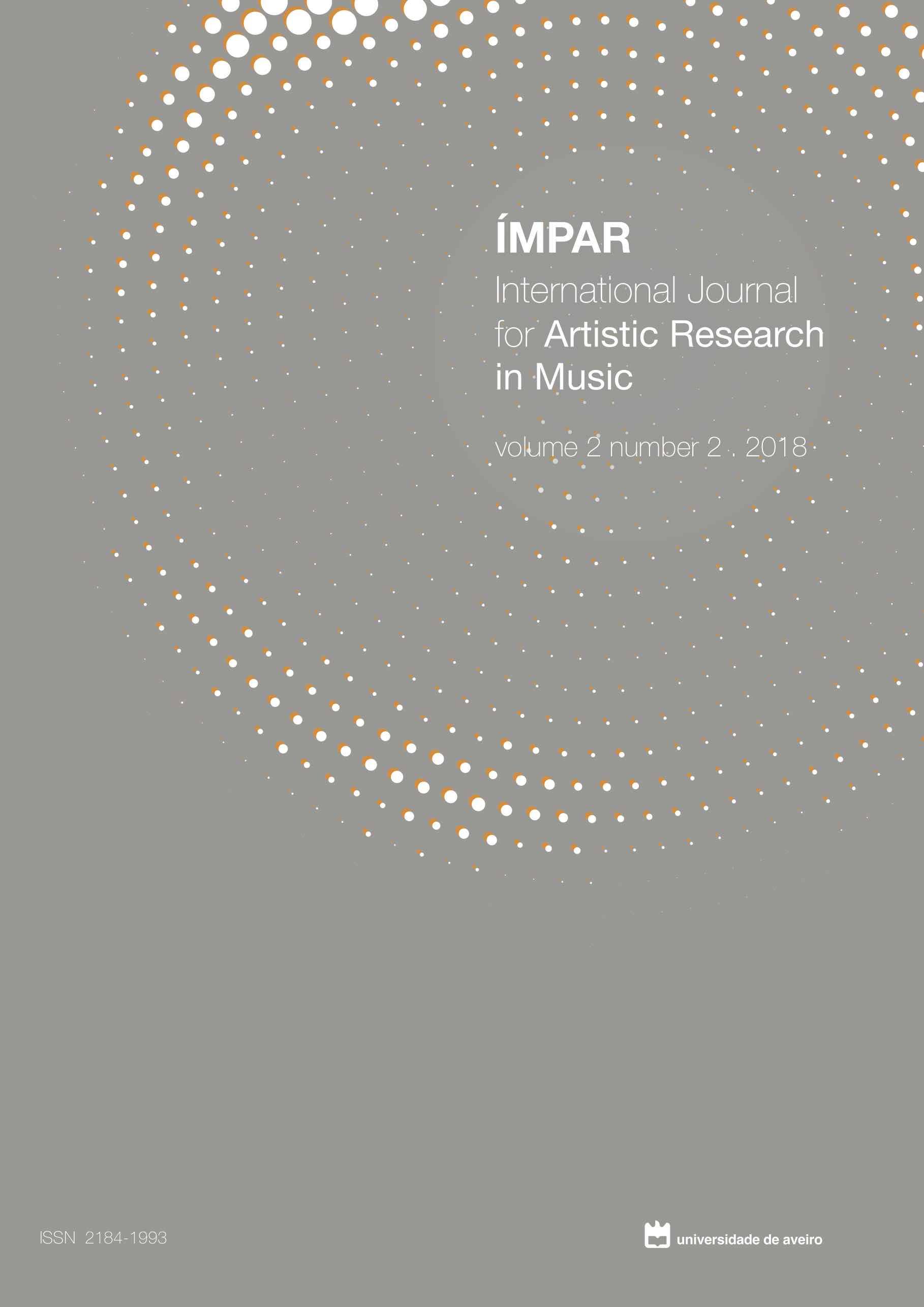 Imagem da capa do vol.2, nº2 (2018) da revista IMPAR