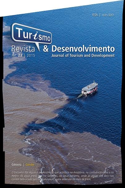 Capa da Revista Turismo & Desenvolvimento, nº23, 2015