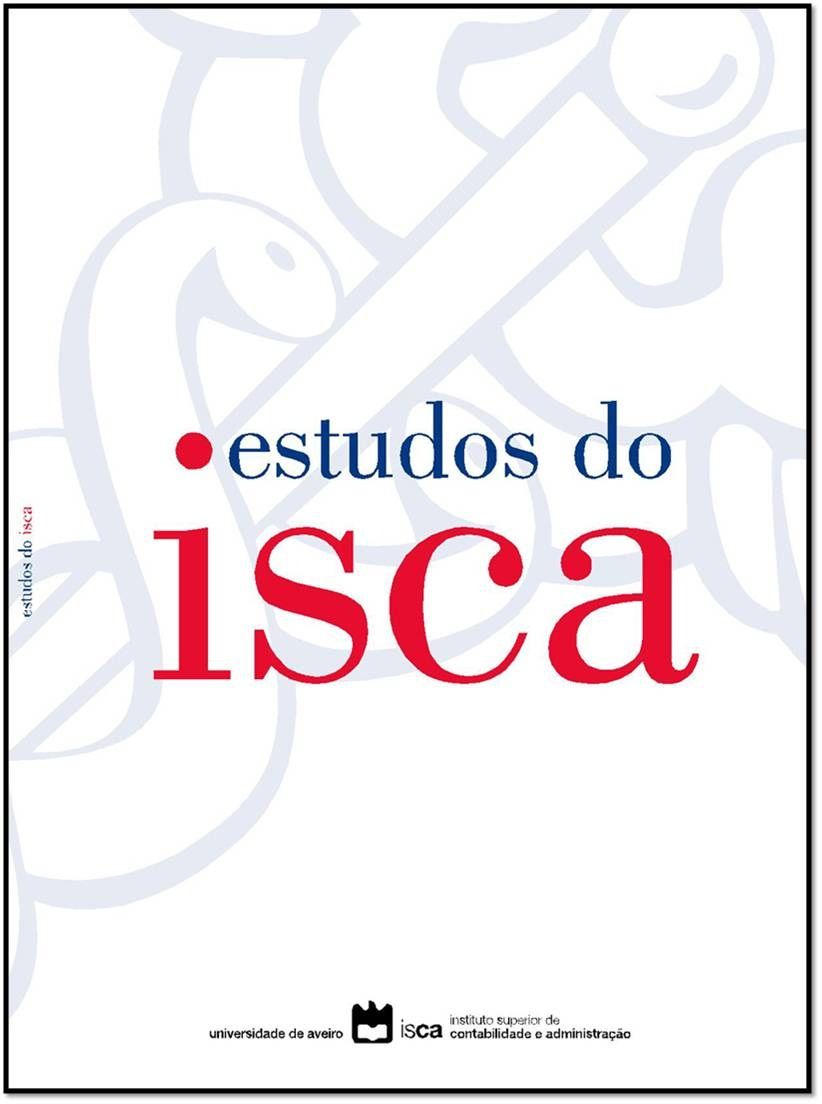 Capa do nº 15 (2017) da revista Estudos do ISCA.