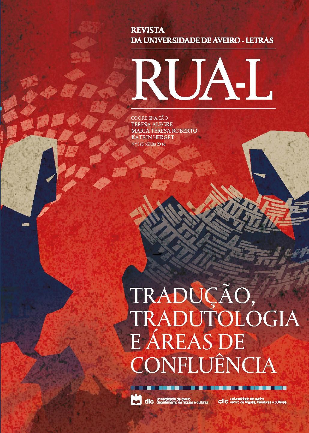 Capa do nº 5 (2016) da revista RUA-L