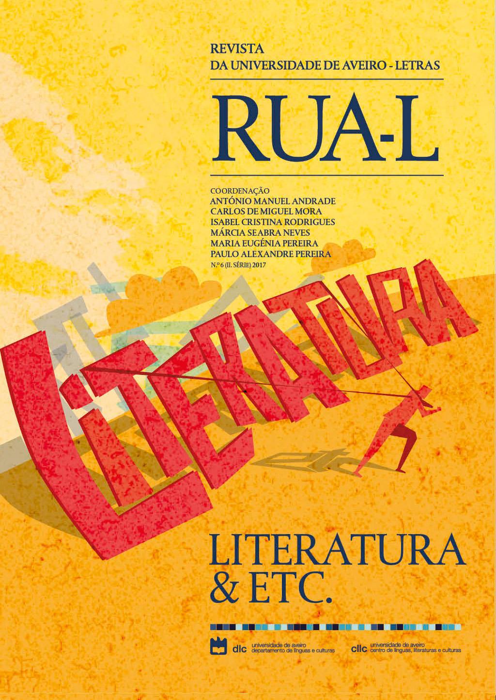 Capa do nº 6 (2017) da RUA-L