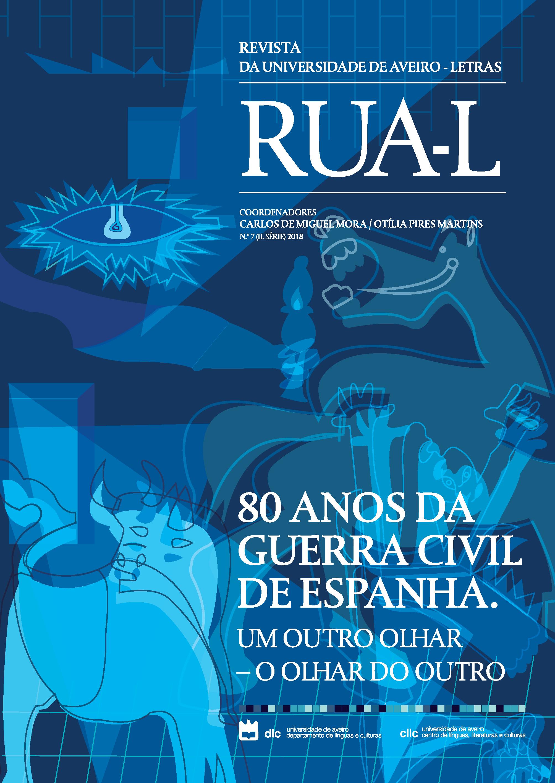 Capa do n.º 7 (2018) da RUA-L