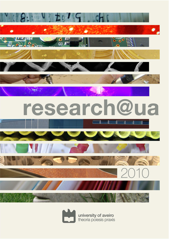 Capa do número 1 de 2010 da revista research@ua
