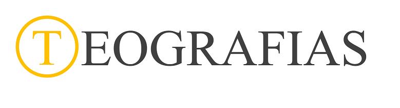 Logotipo da revista Teografias